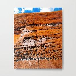 Moab Sandstone Metal Print
