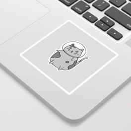 Space Cat II Sticker