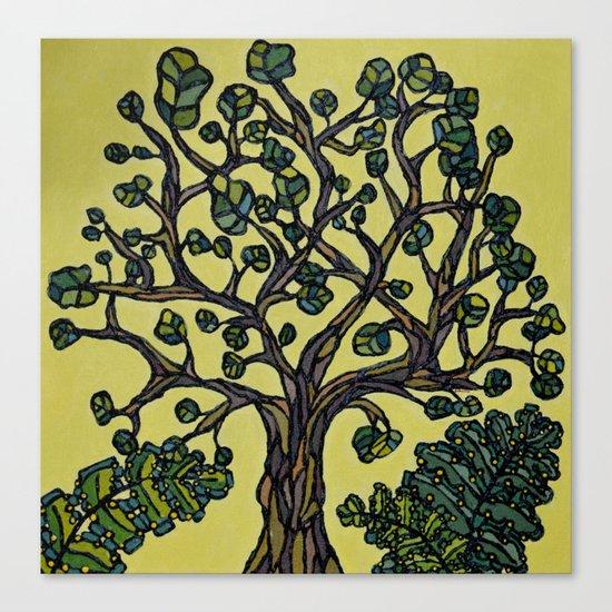 Texture Tree Canvas Print
