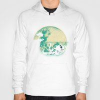 moon Hoodies featuring The Big One by Jay Fleck