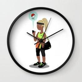 PokeTrainer Wall Clock