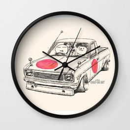 Crazy Car Art 0169 Wall Clock