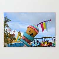 dr seuss Canvas Prints featuring Dr. Seuss by Lauren Doberstein