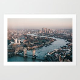 London, England 02 Art Print