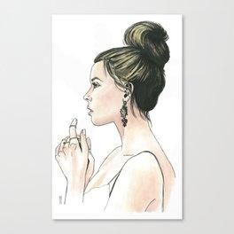 Damaris Canvas Print