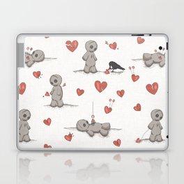 Broken hearted Voodoo Dolls Laptop & iPad Skin