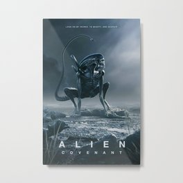 Alien Covenant Hot Movie Silk Canvas Poster Wall Art Home Decor Print 32X48 inch1 Metal Print