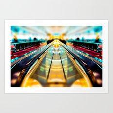 Let's Ride The Conveyor Belt To Candyland Art Print