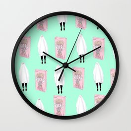 Ghost Pocky Wall Clock
