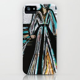 Wizard of Time Travel iPhone Case