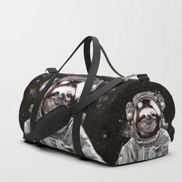 Astronaut Sloth Selfie Duffle Bag