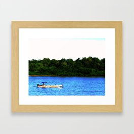 Araguaia River Framed Art Print