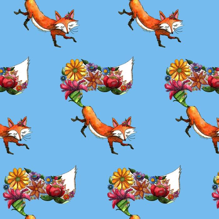 Hunt Flowers Not Foxes Leggings
