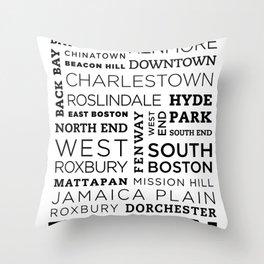 City of Neighborhoods - II Throw Pillow