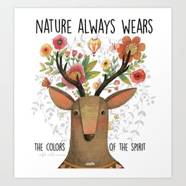 The Colors of Nature Art Print