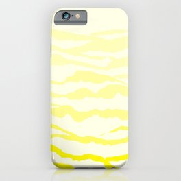Yellow Mountains iPhone Case