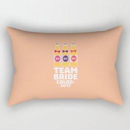 Team Bride Cologne 2017 T-Shirt Dpn32 Rectangular Pillow