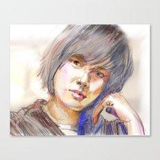 Lee Ji-ah Canvas Print