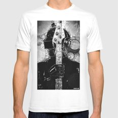 duft_punk_2 Mens Fitted Tee MEDIUM White