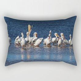 Fighting the Odds II Rectangular Pillow