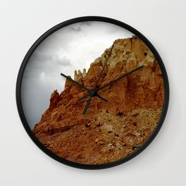 Buttes of New Mexico - On the Road to Santa Fe, No. 7 Wall Clock