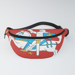 State Flag of Lithuania Knight On Red Fanny Pack