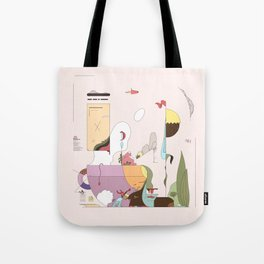 Late Afternoon Tea Tote Bag