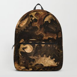 Gear Changer - Steampunk Gears and Cogs Backpack