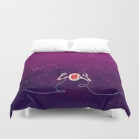 robot Duvet Covers featuring Robot by Cola82