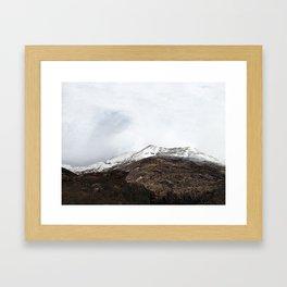 A world apart Framed Art Print