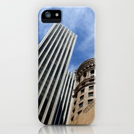 Hobart in the Sky Without Diamonds iPhone Case