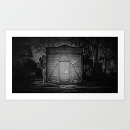 The Christchurch Electricity Substation Project XVII Art Print