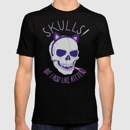 Skulls and Kittens T-shirt