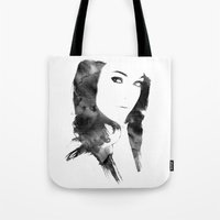 poetry Tote Bags featuring POETRY by Andrea De Amicis aka CONETTO