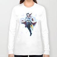 enerjax Long Sleeve T-shirts featuring Doctor Strange by enerjax