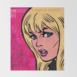 Gwen Stacy, 121 Throw Blanket