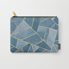 Dusk Blue Stone Carry-All Pouch
