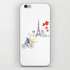 Paris in Love iPhone & iPod Skin