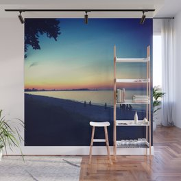 Lake Erie Sunset Wall Mural