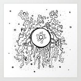 Cyclonic Art Print