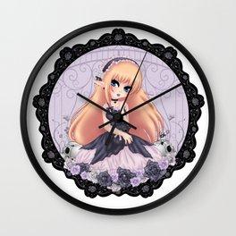 Lolita Doll Wall Clock