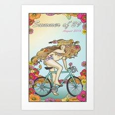 Summer of 29 Art Print
