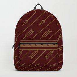 Arrows Flying (Maroon) Backpack