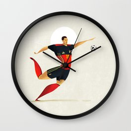 Hazard Wall Clock