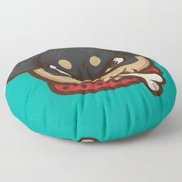 Rottie Pupper Floor Pillow
