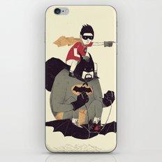to the batmobile! iPhone & iPod Skin