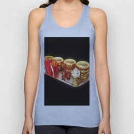 The Golden Age Of Fast Food Unisex Tank Top