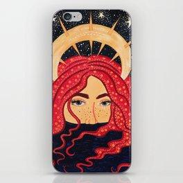 floating goddess iPhone Skin