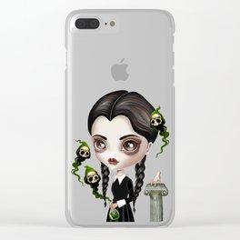 Be Afraid Clear iPhone Case