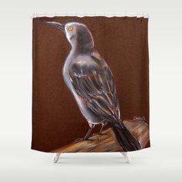 Carib Grackle Shower Curtain